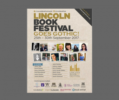 Lincoln Book Festival – 29th September 2017
